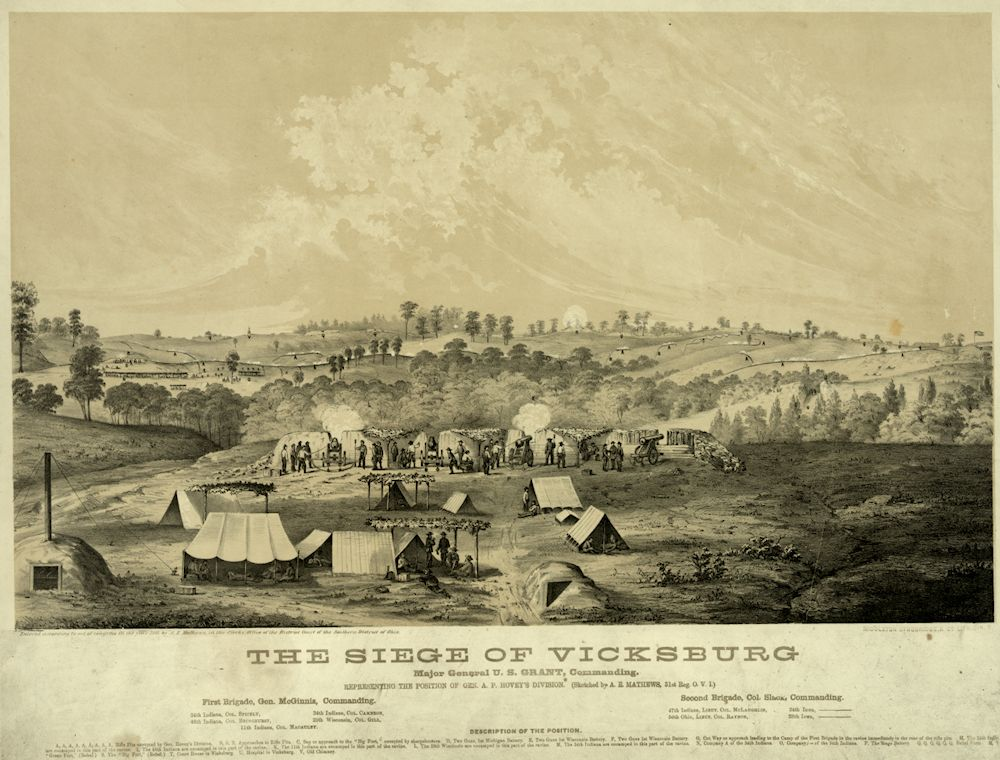 siege of vicksburg Even before the siege of vicksburg commenced, food was a problem  although food was plentiful outside vicksburg, as the union army would.